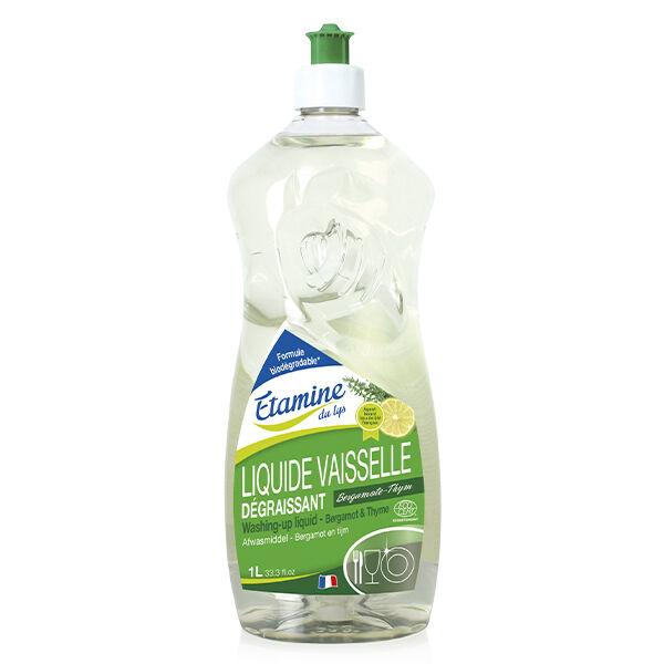 Etamine Du Lys Étamine du Lys Liquide Vaisselle Bergamote et Thym Bio 1L