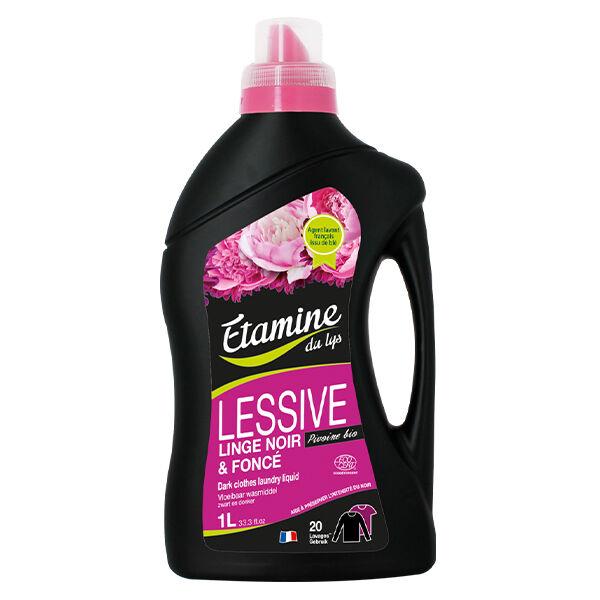 Etamine Du Lys Étamine du Lys Lessive Linge Noir et Foncé Pivoine Bio 1L