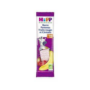 Hipp Bio Barre Pommes Fruits Rouges et Céréales +12m 25g - Publicité