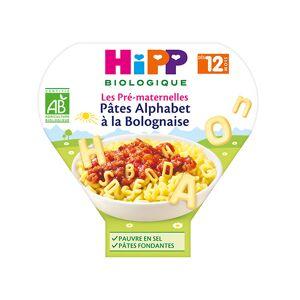 Hipp Bio Les Pré-Maternelles Pâtes Alphabet à la Bolognaise +12m 230g - Publicité