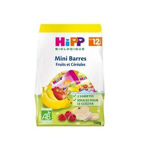Hipp Bio Mini Barres Fruits et Céréales +12m 100g - Publicité
