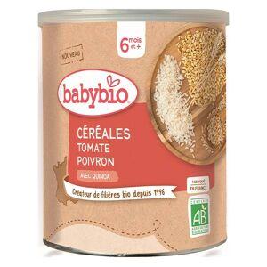 Babybio Mes Céréales Pot Tomate Poivron Quinoa +6m Bio 220g - Publicité