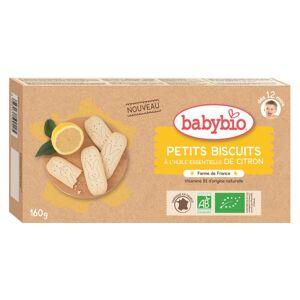 Babybio Mes Petits Biscuits à l'Huile Essentielle de Citron +12m Bio 160g - Publicité