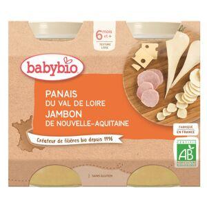 Babybio Menu du Jour Pot Panais Jambon +6m Bio 2 x 200g - Publicité