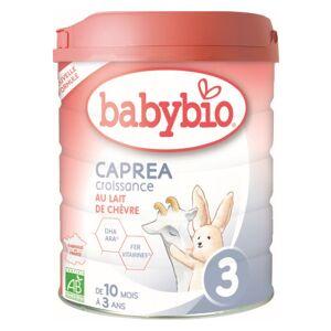 Babybio Caprea Lait de Chèvre 3ème Âge Bio 800g - Publicité