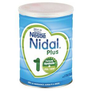 Nidal Plus Lait en Poudre 1er Âge Formule Épaissie 0-6m 800g - Publicité