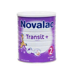 Novalac Lait Transit+ 2ème Âge 800g - Publicité