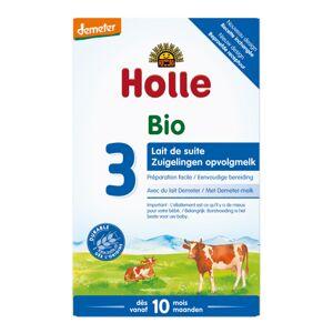 Holle Lait de Suite 3 Bio +10m 600g - Publicité