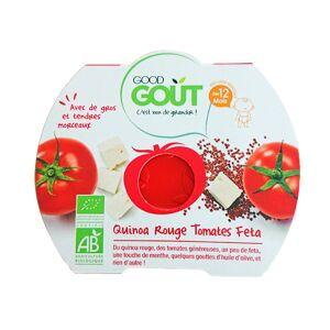 Good Gout Good Goût Assiette Quinoa Rouge Tomates Feta dès 12m 220g - Publicité