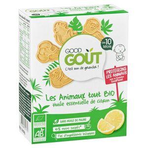 Good Goût Biscuits Animaux +10m Citron Bio 80g - Publicité