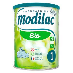 Modilac Bio Lait 1er âge 800g - Publicité