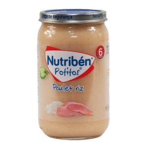Nutriben Potitos Poulet Riz 235g - Publicité