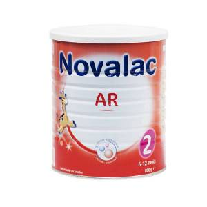 Novalac Lait AR 2ème âge 800g - Publicité