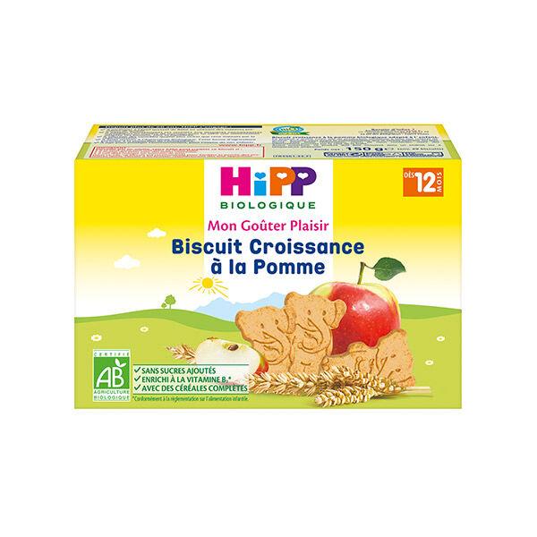 Hipp Bio Mon Goûter Plaisir Biscuit Croissance à la Pomme +12m 150g