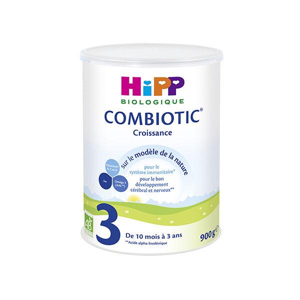 Hipp Bio 3 Lait Combiotic Croissance 10m-3ans 900g