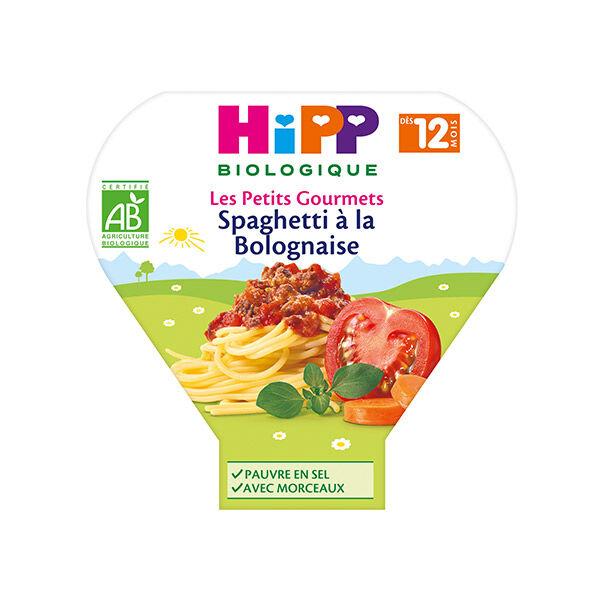 Hipp Bio Les Petits Gourmets Spaghetti à la Bolognaise +12m 230g