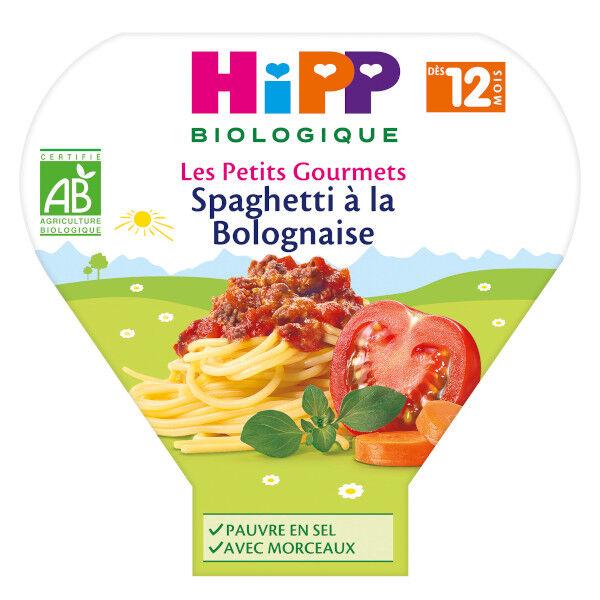 Hipp Bio Les Petits Gourmets Assiette Spaghetti à la Bolognaise +12m 230g