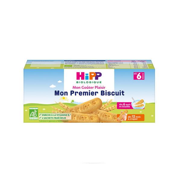 Hipp Bio Mon Goûter Plaisir Mon Premier Biscuit +6m 180g