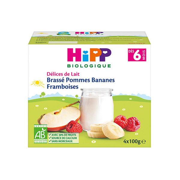 Hipp Bio Brassé Bananes Mangues Ananas +6m 4x100g