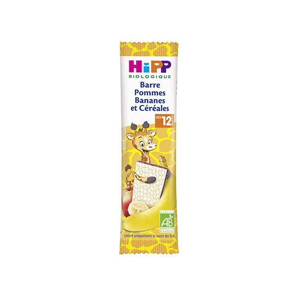 Hipp Bio Barre Pommes Bananes et Céréales +12m 25g