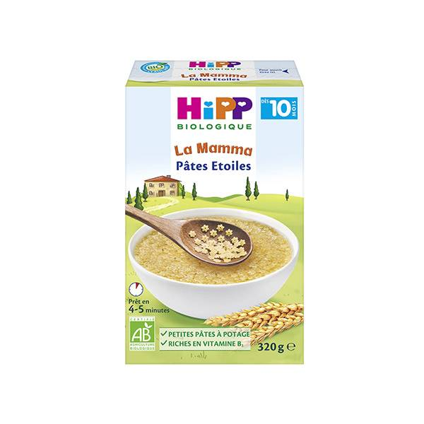 Hipp Bio La Mamma Pâtes Etoiles +10m 320g