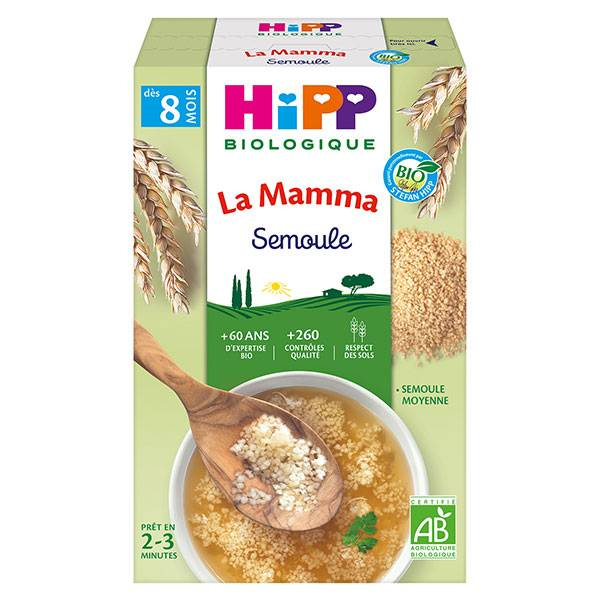 Hipp Bio La Mamma Semoule +8m 320g