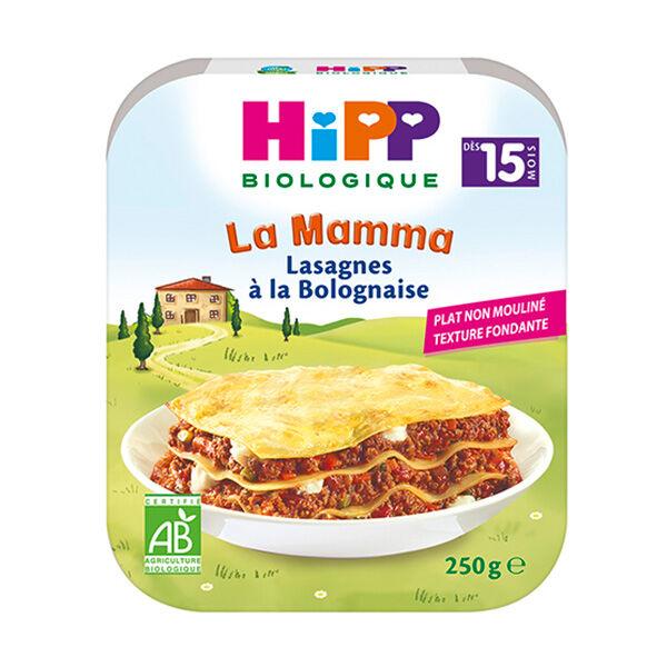 Hipp Bio La Mamma Lasagnes à la Bolognaise +15m 250g