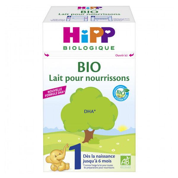 Hipp Bio Lait pour Nourrissons 1er Âge 600g
