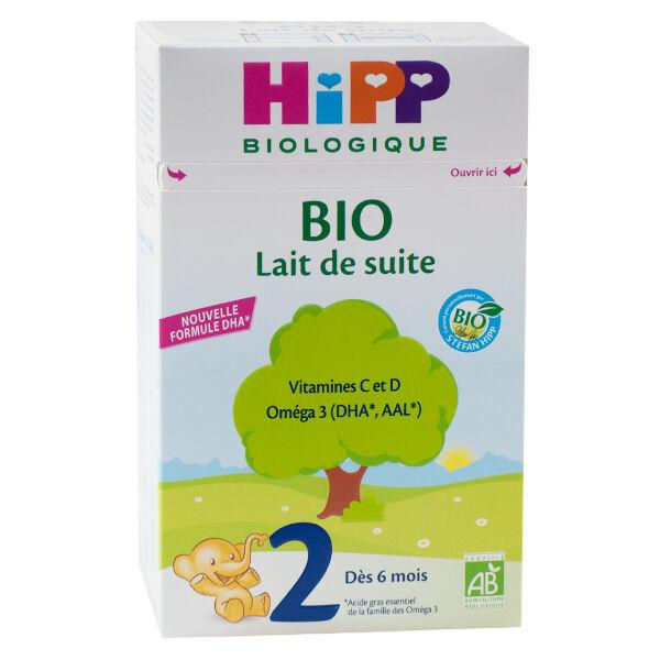 Hipp Bio Lait de Suite 2ème Âge 700g