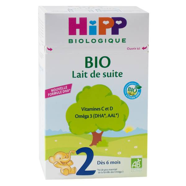 Hipp Lait de Suite Bio +6m 700g
