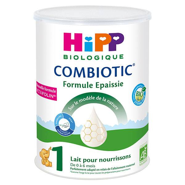 Hipp Bio Lait pour Nourrissons Combiotic 1er Âge Formule Épaissie 800g