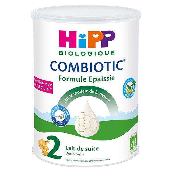 Hipp Bio Lait de Suite Combiotic 2ème Âge Formule Épaissie 800g