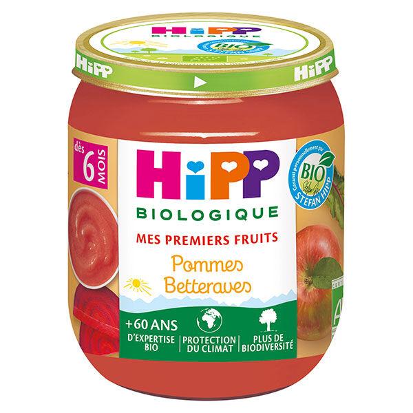 Hipp Fruits et Céréales Pommes Betteraves +6m Pot de 125g