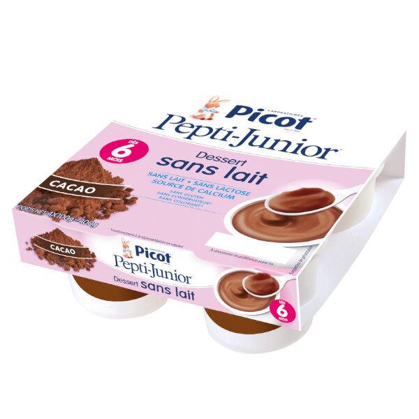 Picot Mon 1er Dessert sans Lait Cacao +6m 4 x 100g