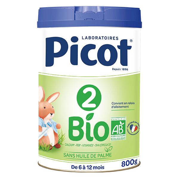 Picot Bio Lait 2ème Âge 800g