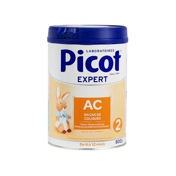 Picot Expert Action Colique 2ème Age 6-12m 800g