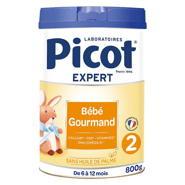 Picot Expert Bébé Gourmand 2ème Age 800g