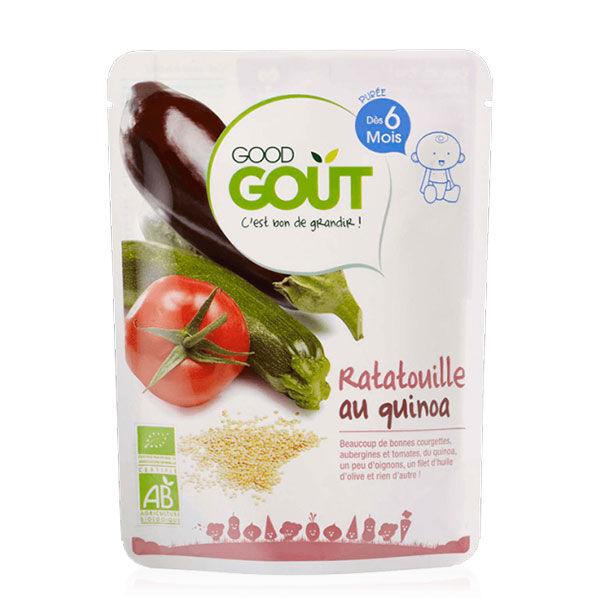 Good Goût Plat Ratatouille au Quinoa +6m Bio 190g