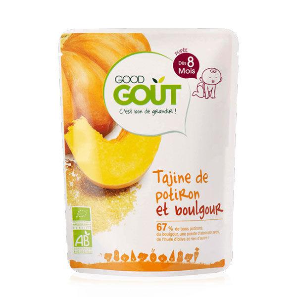 Good Goût Plat Tajine de Potiron et Boulgour dès 8m 190g