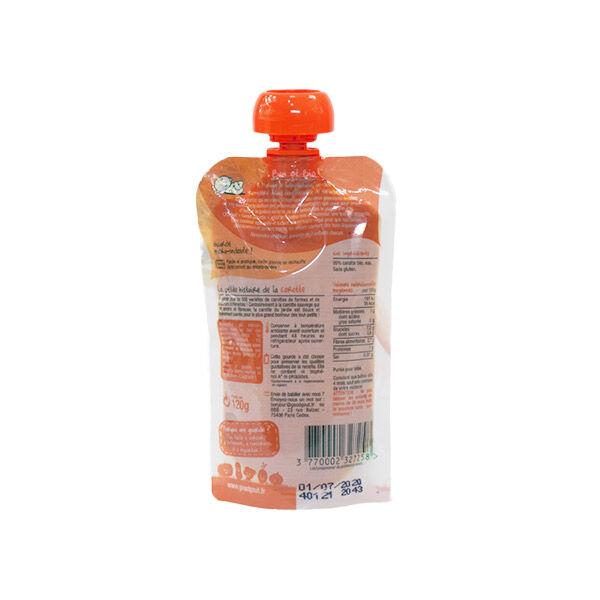 Good Goût Gourde Purée de Légumes Carotte +4m Bio 120g