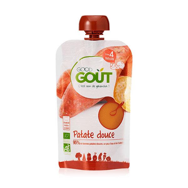 Good Goût Gourde Purée de Légumes Patate Douce +4m Bio 120g