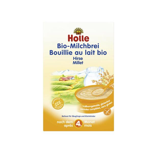Holle Bouillie au Lait Millet Bio +4m 250g