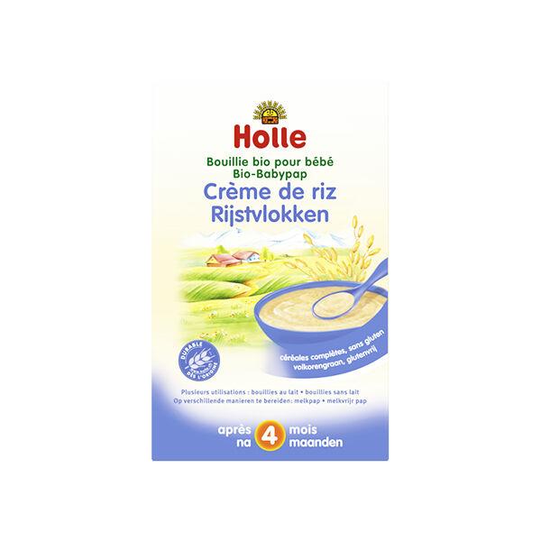 Holle Crème de Riz Sans Gluten Bio +4m 250g