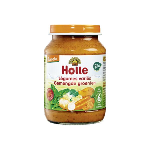 Holle Petit Pot Légumes Variés Bio +6m 190g