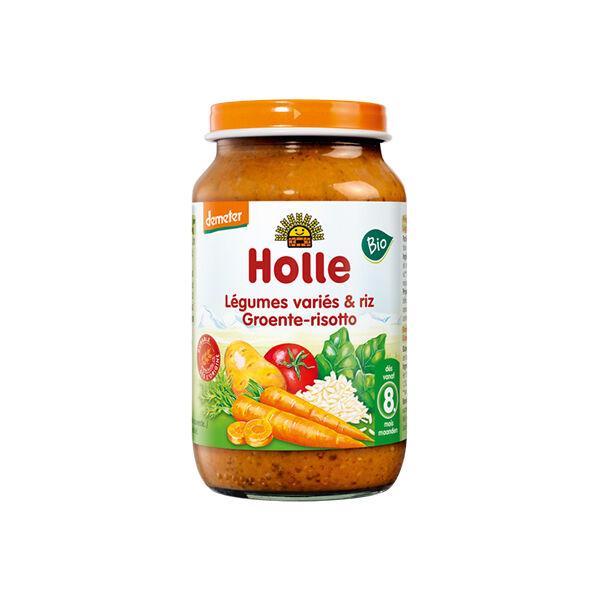 Holle Petit Pot Légumes Variés Riz Bio +8m 220g