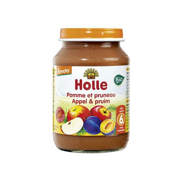 Holle Petit Pot Pomme Pruneau Bio +6m 190g