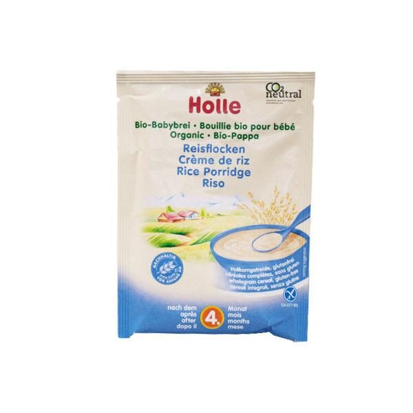 Holle Crème de Riz Bio +4m 25g