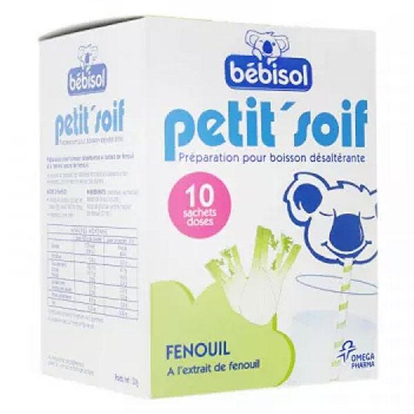 Bébisol Petit'Soif Fenouil 10 sachets doses