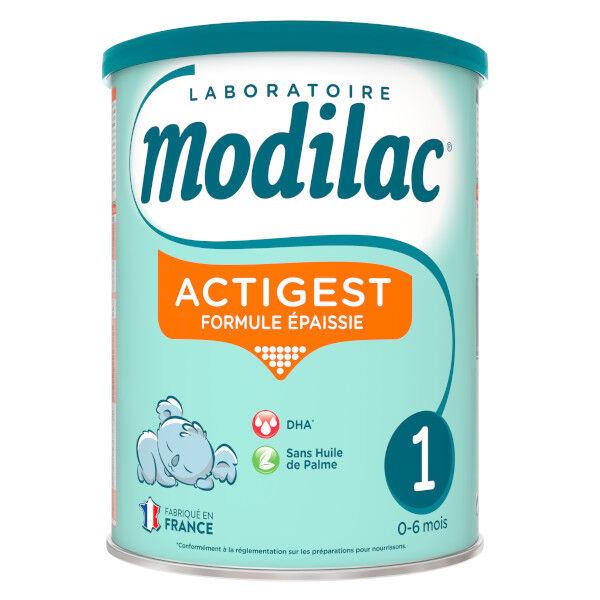 Modilac Actigest Lait 1er Age 800g
