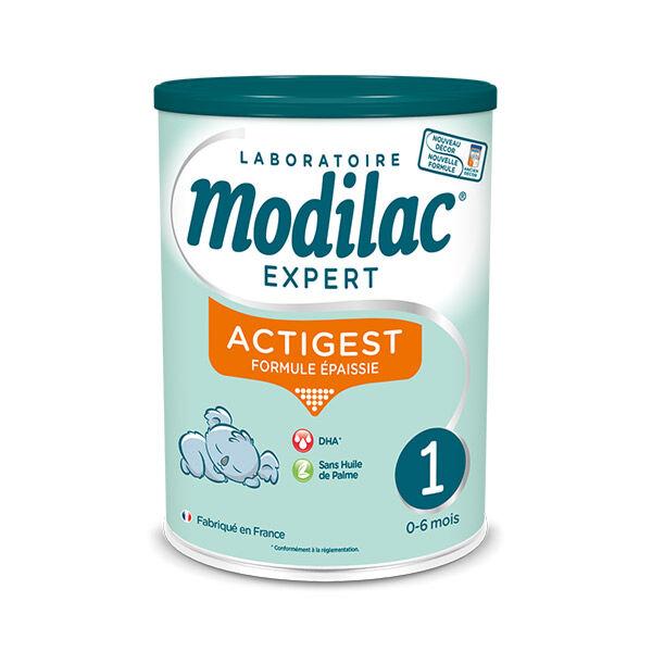 Modilac Expert Actigest Lait 1er Age 800g